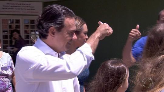 Marquinhos Trad vota em Campo Grande