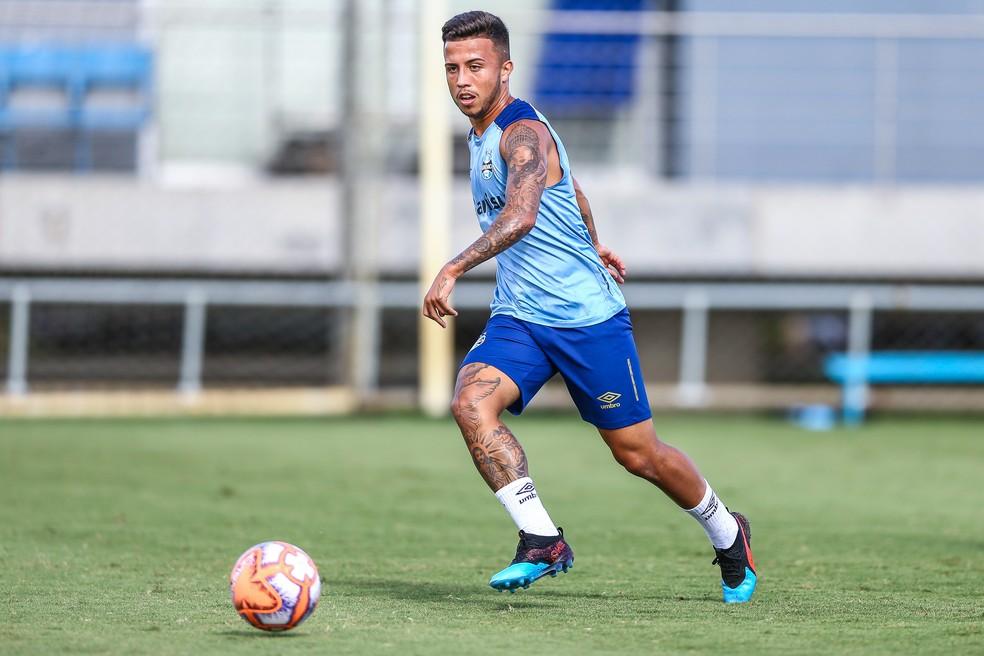 Matheus Henrique — Foto: Lucas Uebel / Grêmio FBPA