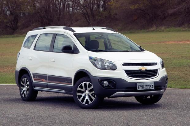 Chevrolet Spin Activ (Foto: Fabio Aro/Autoesporte)