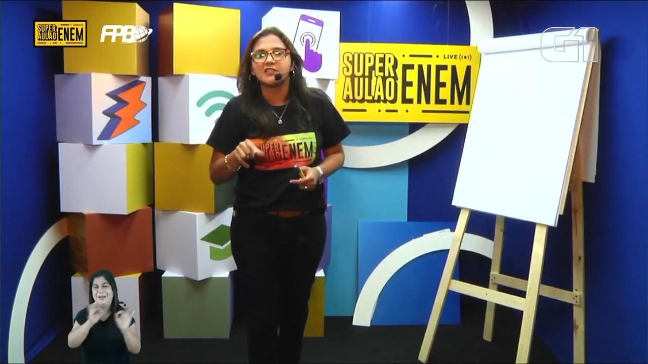 Lá Vem o Enem 2020: reveja aulão de redação, com a professora Lorena Ponce de Leon