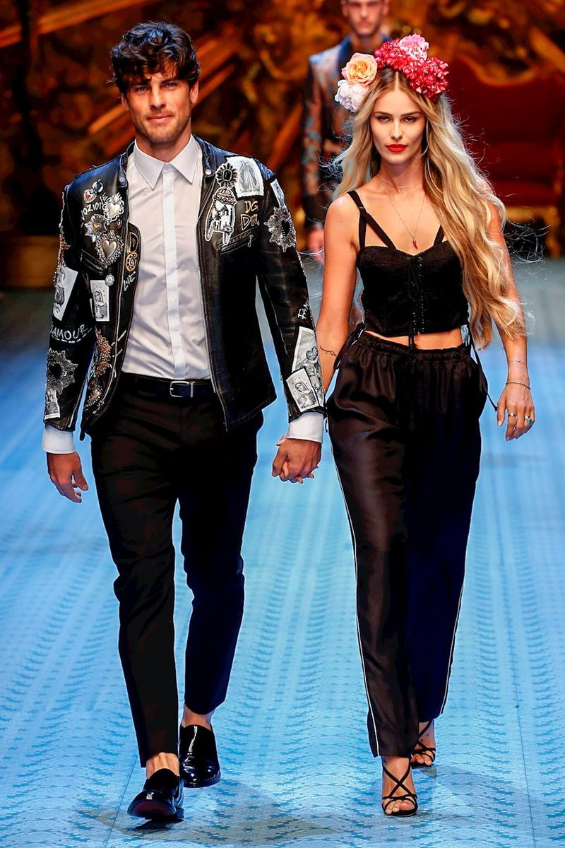 Evandro e Yasmin (Foto: Reprodução/Nowfashion.com)