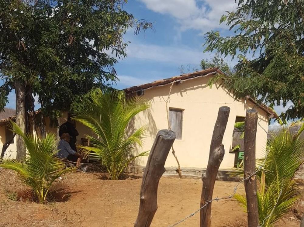 Crime ocorreu em residência na zona rural de Ipueiras (Foto: Arquivo pessoal)
