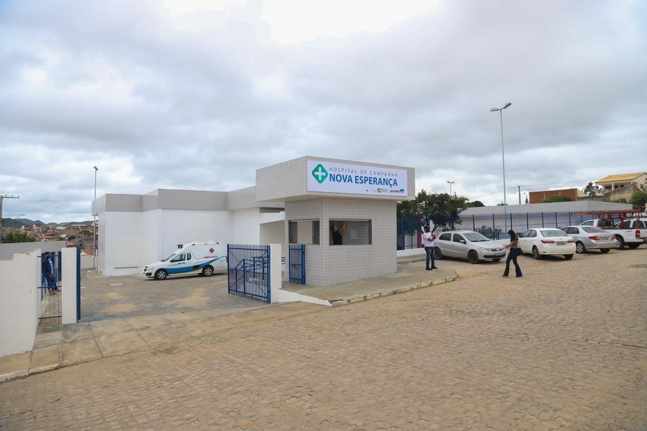 Salgueiro ganha hospital de campanha para tratamento de pacientes com novo coronavírus