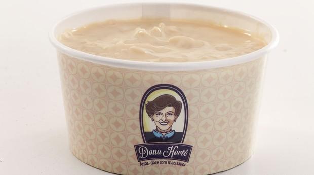 Arroz-doce de doce de leite da Dona Hortê (Foto: Divulgação)