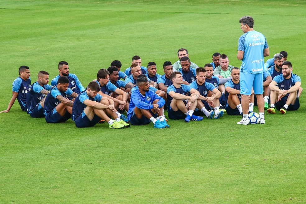 Renato deve ter grupo mais reforçado em 2019 — Foto: Lucas Uebel/Grêmio