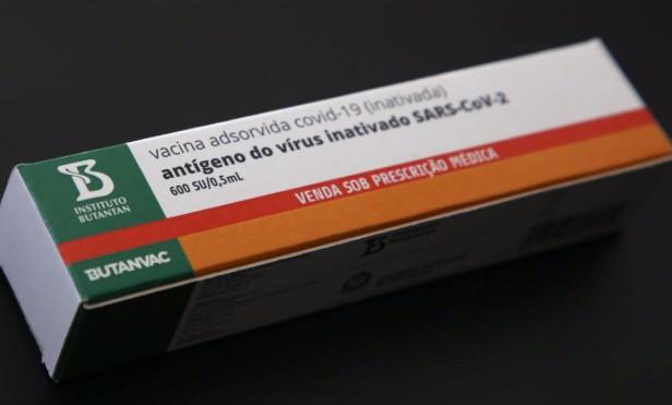 Embalagem que será utilizada para as doses da Butanvac