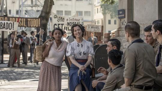 Maria Teresa fica encantada com  militares no primeiro episódio de 'Filhos da Pátria'; confira prévia!