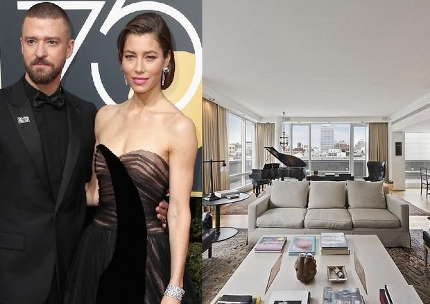 Jessica Biel e Justin Timberlake colocam mansão de NY à venda (Foto: Reprodução)