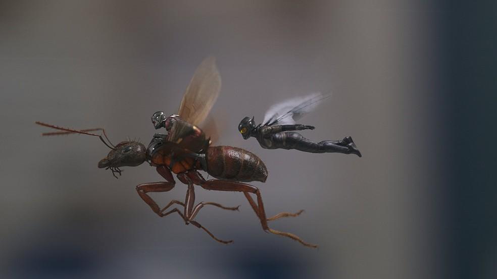 Paul Rudd e Evangeline Lilly vivem os heróis de 'Homem-Formiga e a Vespa' (Foto: Divulgação/Disney)