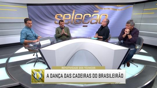 Seleção SporTV debate sobre troca de técnicos em clubes brasileiros