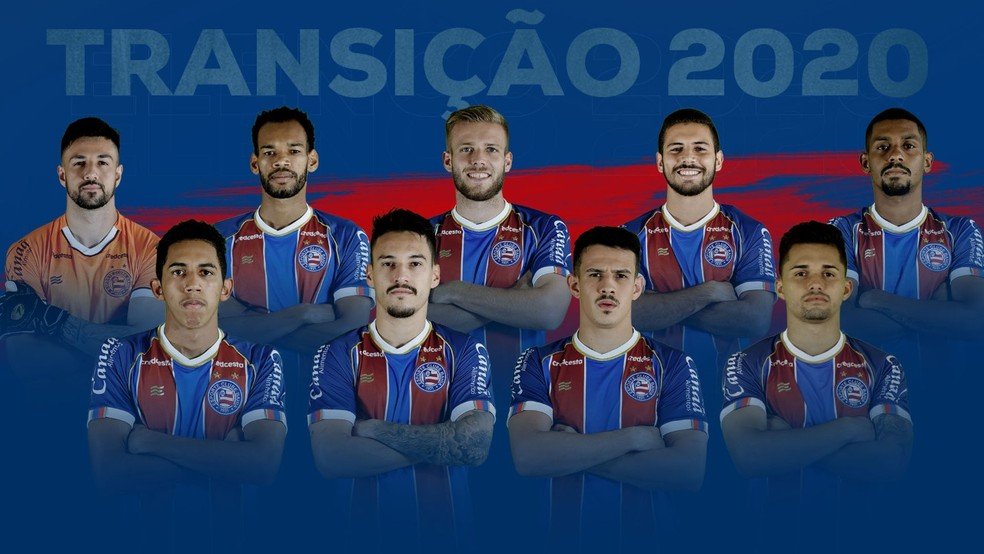 Time B do Bahia contará com nove atletas recém-contratados — Foto: Divulgação / EC Bahia