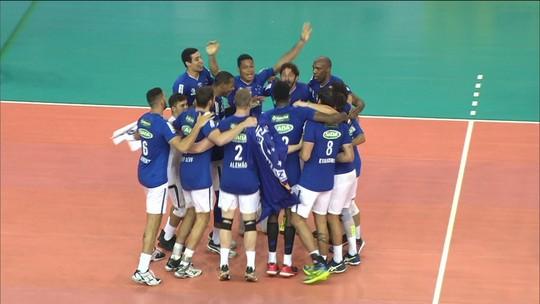 Cruzeiro vence Lomas e conquista o penta no Sul-Americano de Vôlei