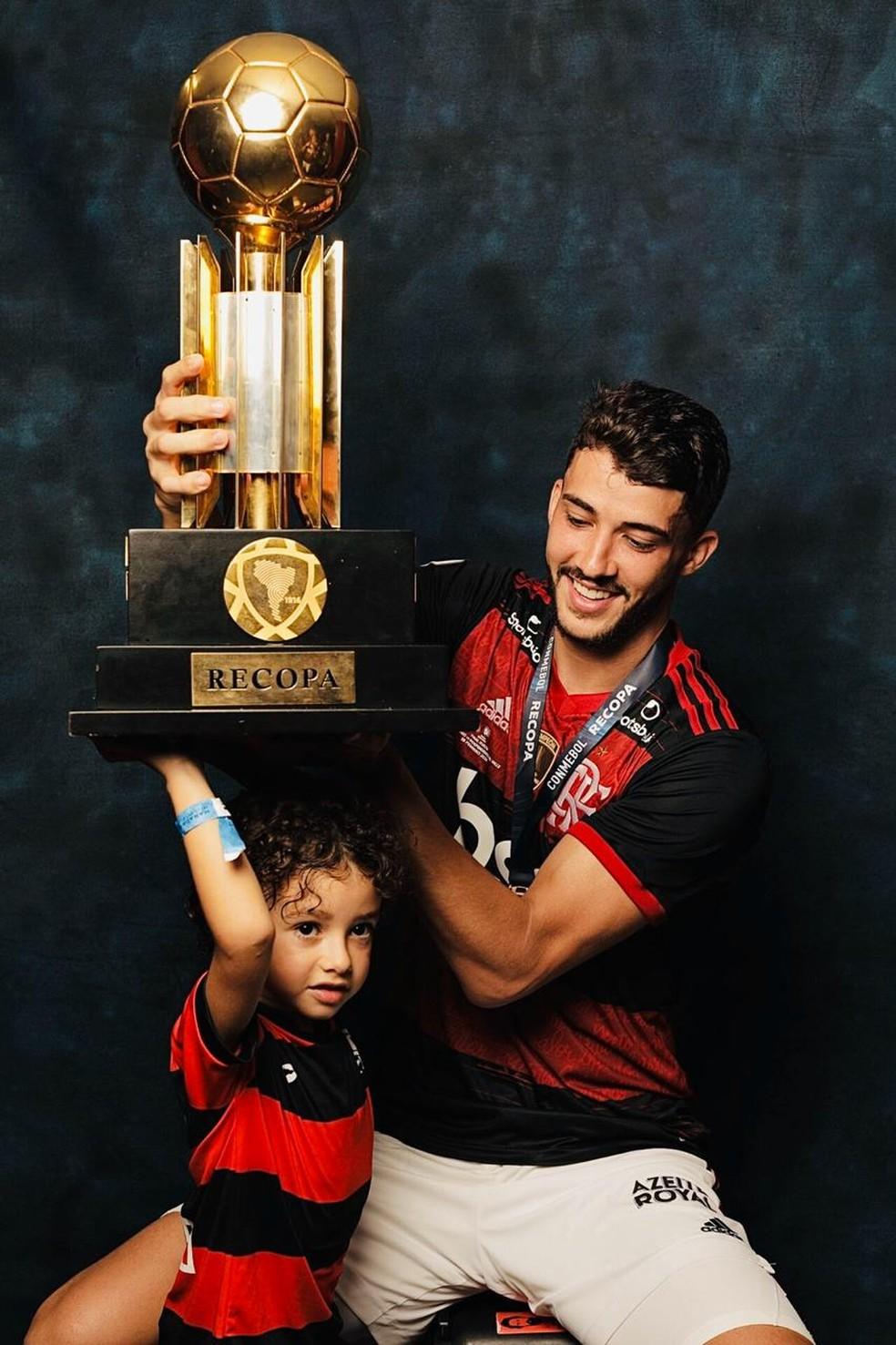 Gustavo Henrique Flamengo — Foto: Divulgação Conmebol