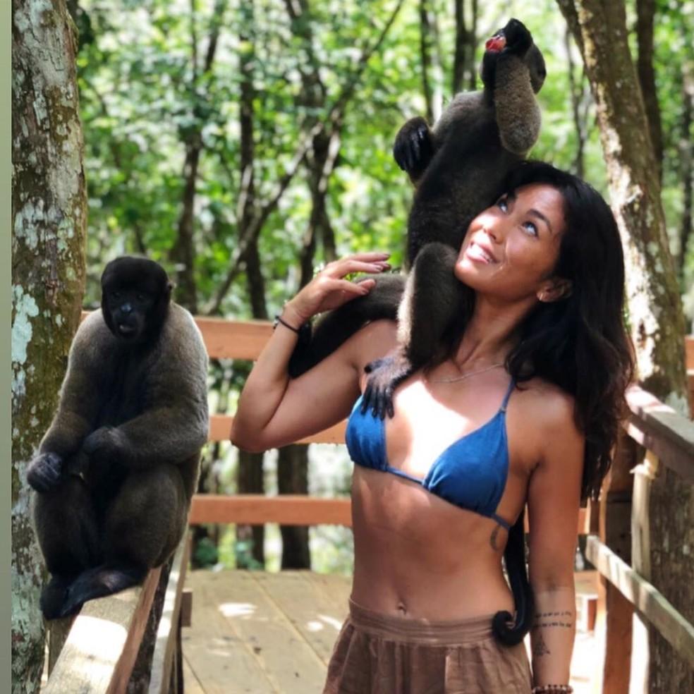 Dani Suzuki tirou férias e foi para a Amazônia — Foto: Arquivo Pessoal