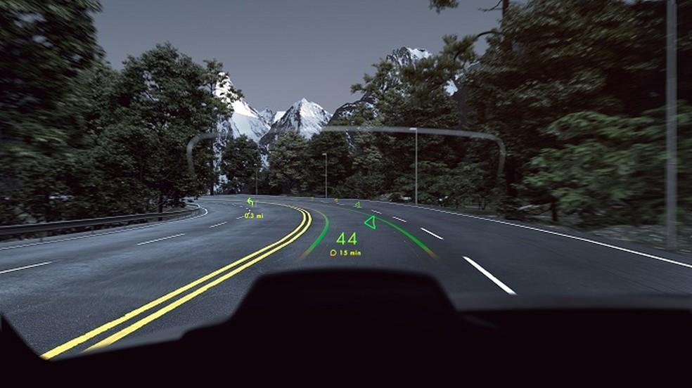 Navion leva realidade virtual para parabrisa dos carros (Foto: Divulgação/WayRay)