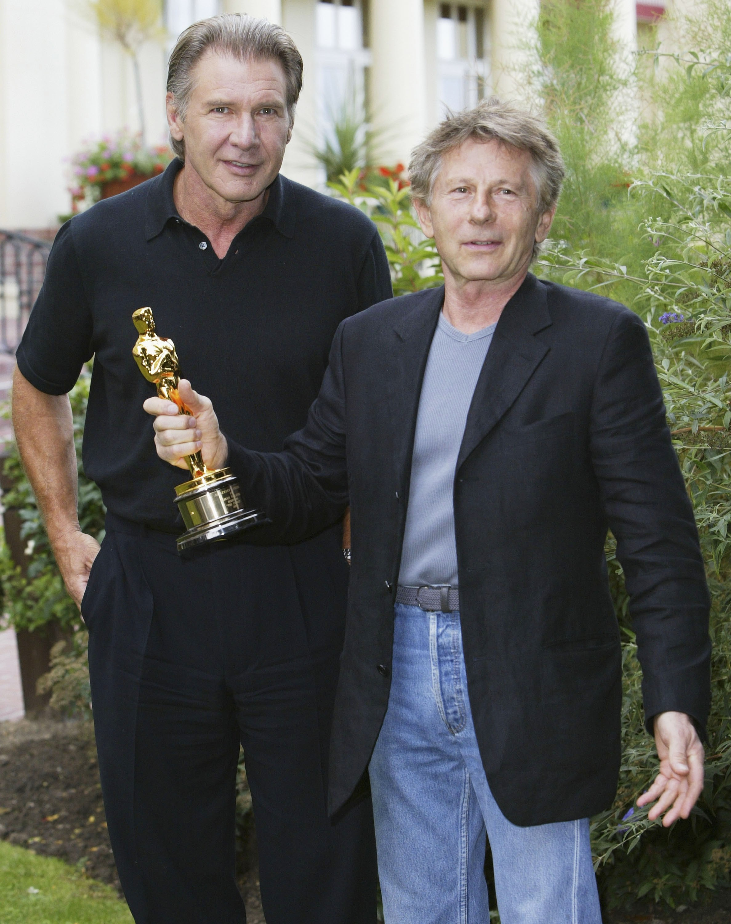 Harrison Ford e Roman Polanski (Foto: Getty Images)