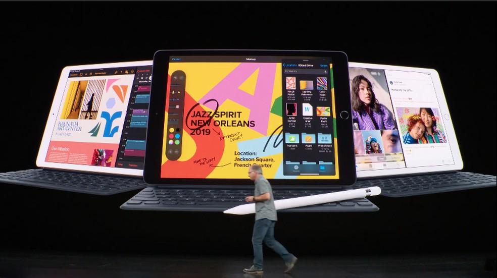 Novo iPad é apresentado no Apple Event — Foto: Reprodução/Apple