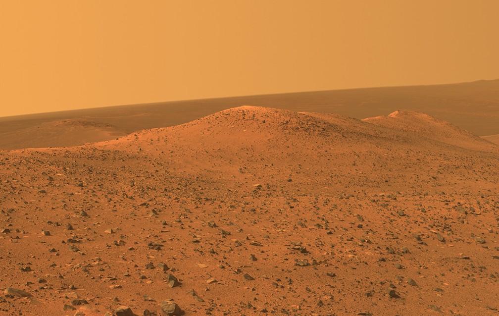 Marte é objeto de pesquisas para se tornar mais habitável  — Foto: NASA