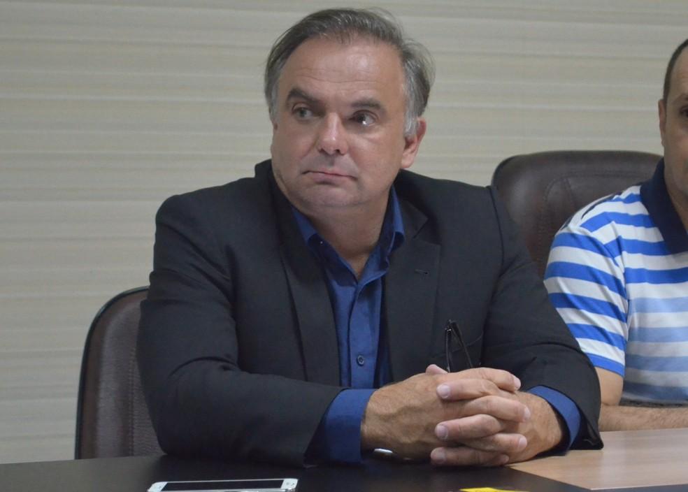 João Alberto Pizzolatti Júnior (PP) assumiu a Seapi em fevereiro deste ano (Foto: Valéria Oliveira/ G1 RR)