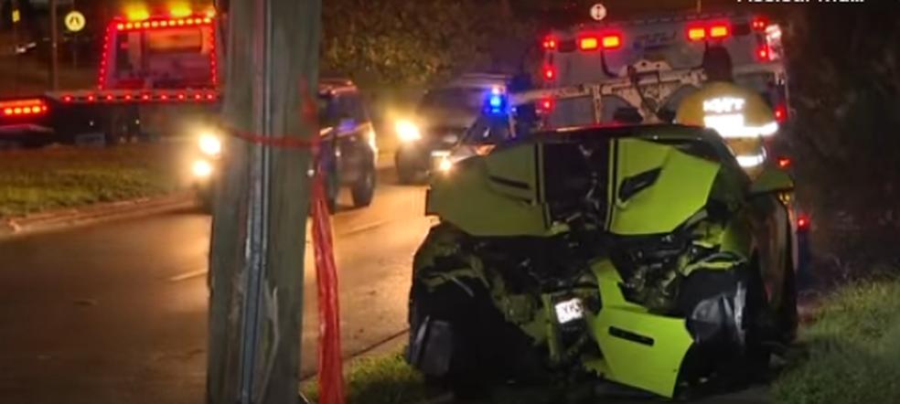 A polícia local informou que o motorista deve ser acusado por negligência  — Foto: Reprodução