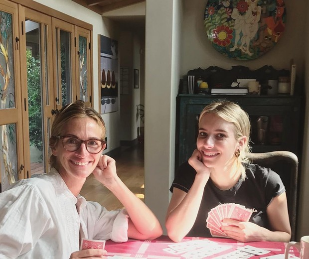 Julia e Emma Roberts (Foto: Reprodução/Instagram)