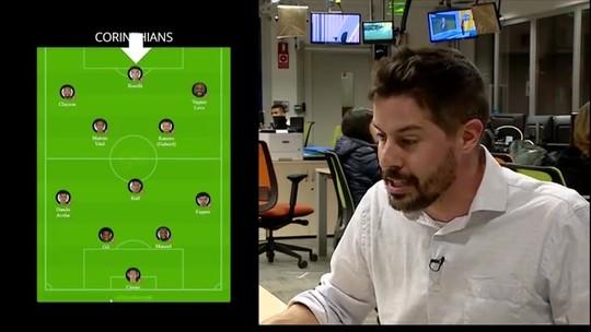 Veja a preparação do Corinthians para enfrentar o Athletico