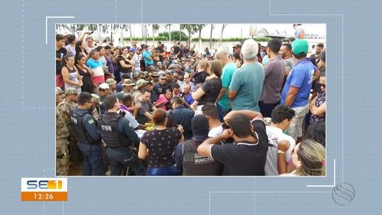 Corpo de policial morto durante abordagem é enterrado em Lagarto