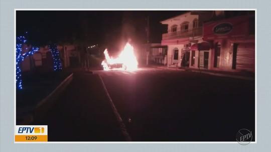 Polícia prende quatro suspeitos de explosão a banco em Ilicínea, MG