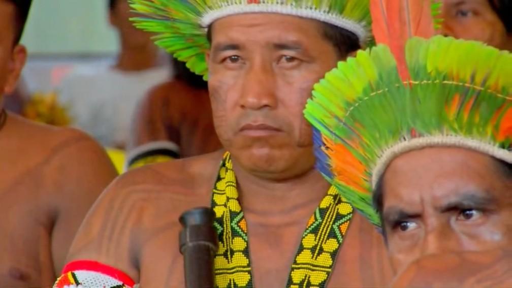 Reunião deve discutiu estratégias para proteger a Amazônia e os povos indígenas de ameaças — Foto: TVCA/Reprodução