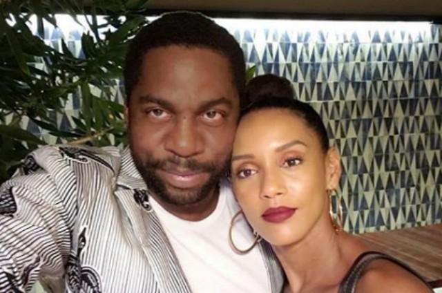 Taís Araújo com o marido, Lázaro Ramos (Foto: Reprodução)