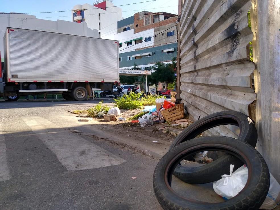 Prefeitura apresentou recolhimento de coleta de lixo emergencial e serviço está acontecendo de forma paliativa — Foto: Epitácio Germano/Arquivo Pessoal