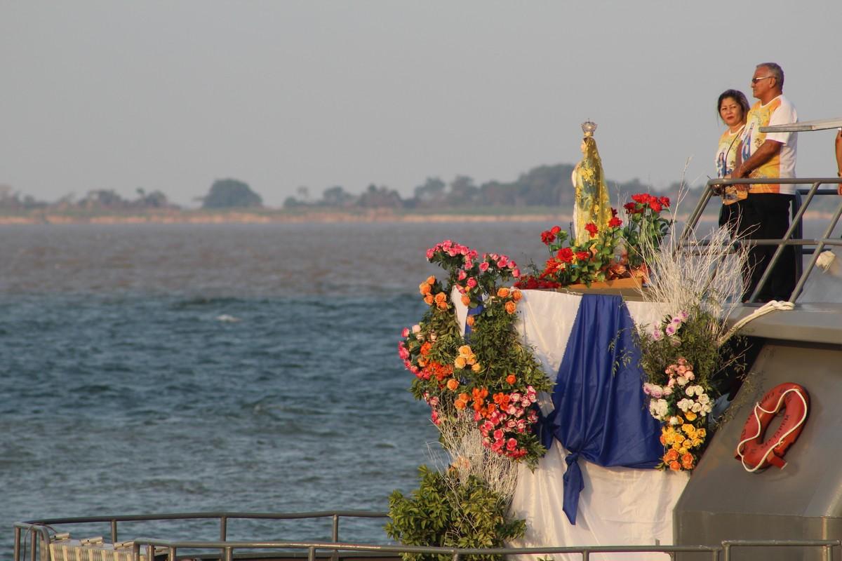Romaria Fluvial de N. Sra. da Conceição é retomada após 22 anos e reúne centenas de fiéis em Santarém