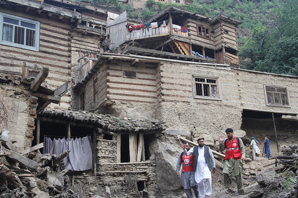 Sobem os números de mortos e desaparecidos em enchentes no Afeganistão