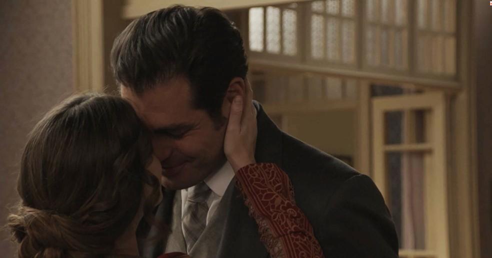 Não adianta brigar, eles se amam! ??? (Foto: TV Globo)