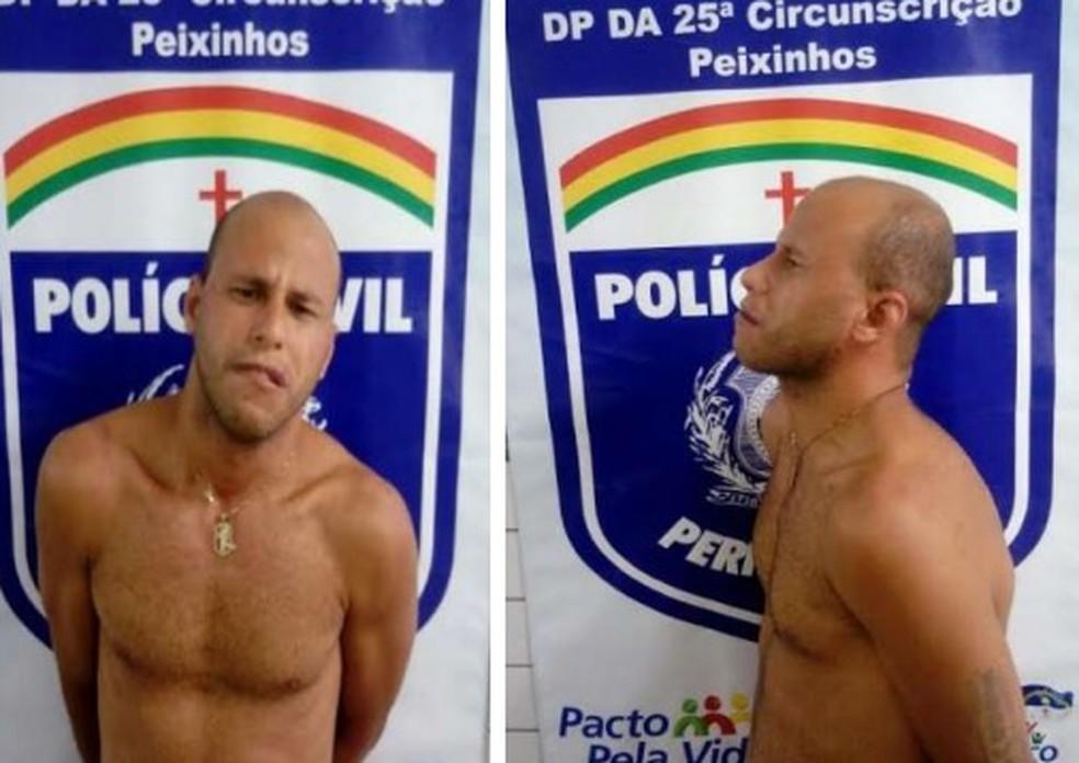 Segundo a polícia, Alexandre Silva de Souza atraía vítimas por site de classificados (Foto: Polícia Civil/Divulgação)