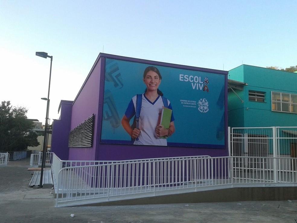 Novas unidades do Escola Viva foram prometidas para 2018 — Foto: Divulgação
