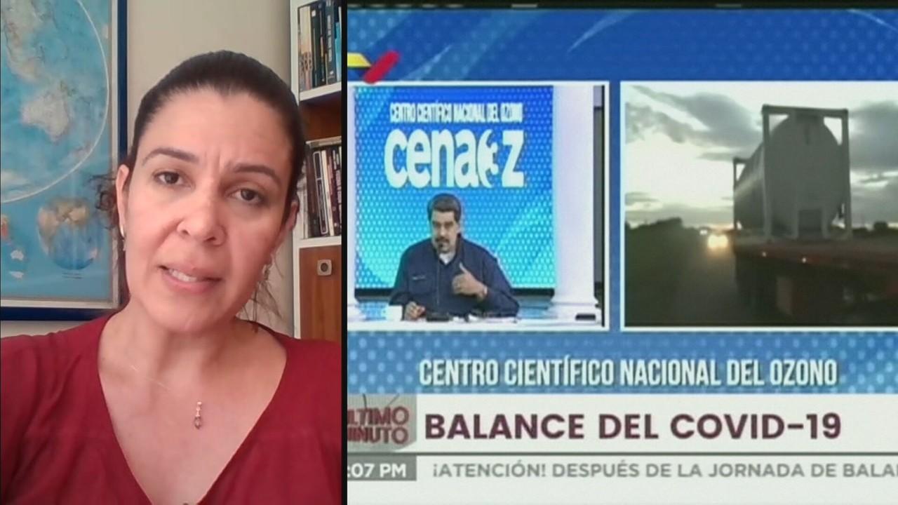 Comboio com oxigênio vindo da Venezuela está a caminho do Brasil nesta segunda (18)