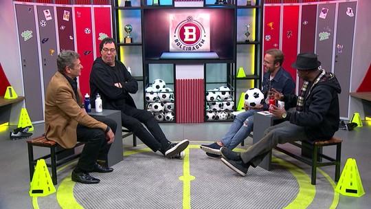 Casagrande, Wladimir e Darío Pereyra debatem Majestoso em programa com revelação