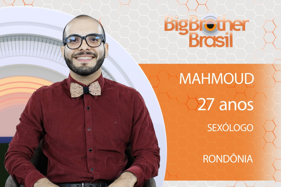 Mahmoud é participante do BBB18 (Foto: TV Globo)