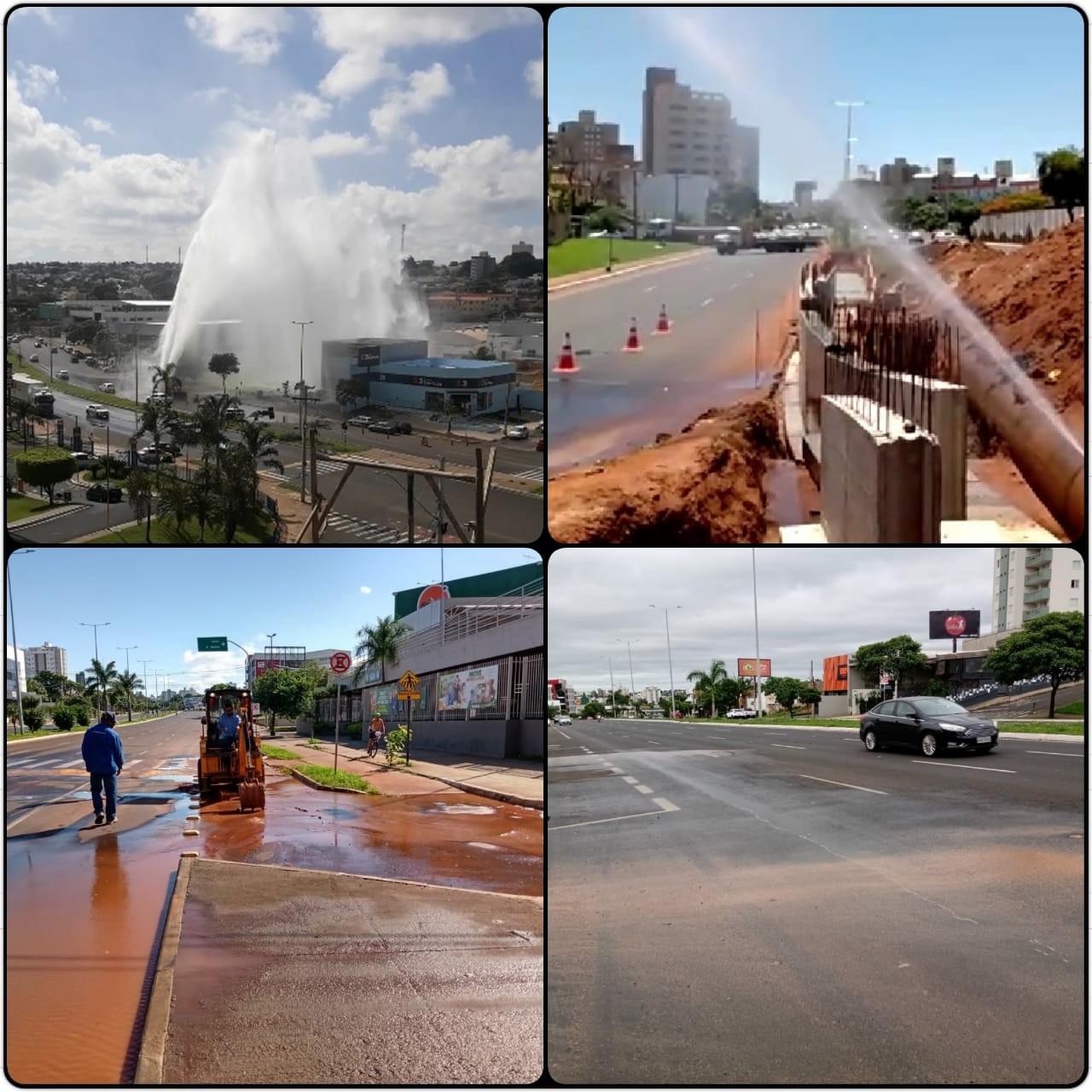 MPE investiga vazamentos de água em Uberlândia para avaliar se é necessário recalcular vazão na cidade