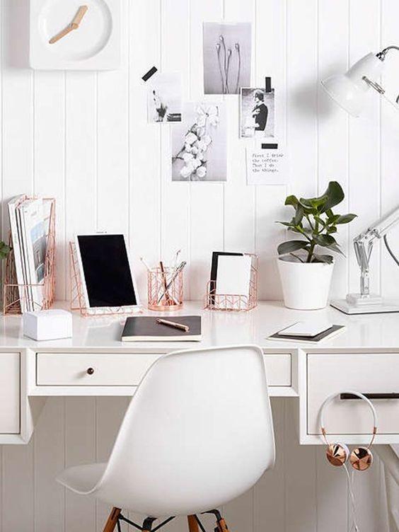 Rose Gold: 7 ideias para usar a cor da moda (Foto: Reprodução / Pinterest)