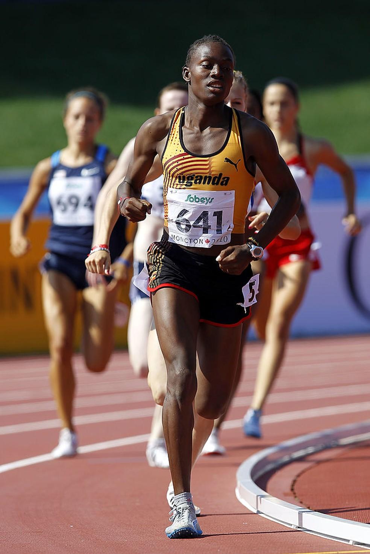 Annet Negesa no Campeonato Mundial júnior de 2010 — Foto: Chris Trotman/Getty Images