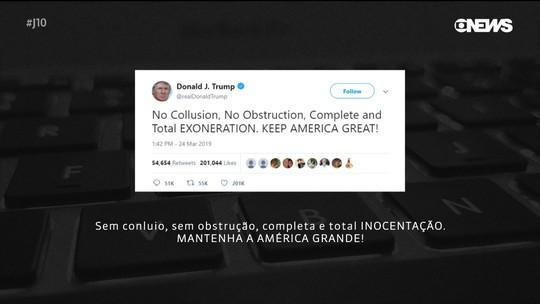 Procurador inocenta Trump da acusação de conspiração com a Rússia para influenciar eleição