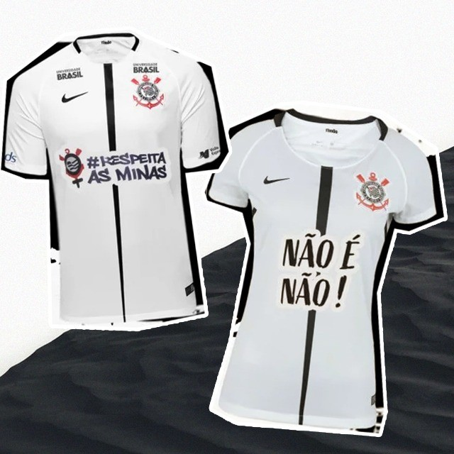 As camisas que serão usadas no jogo contra o Mirassol (Foto  Divulgação) 02c8fb19abcfd