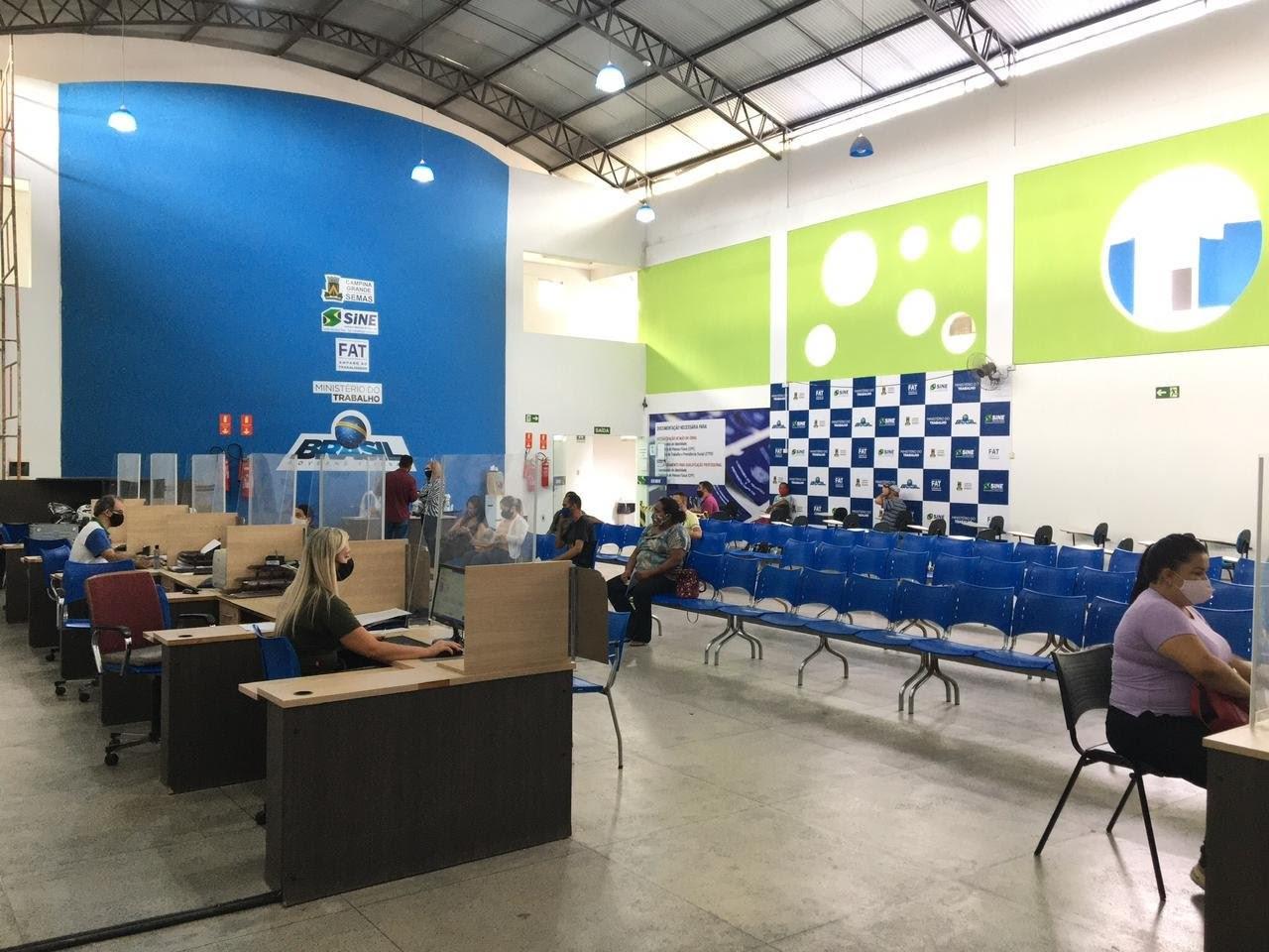 Sine de Campina Grande oferta mais de 110 vagas de emprego a partir desta quinta-feira (13)