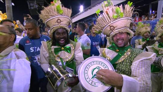 Tabajara, Baterilha, Furiosa...conheça os apelidos das baterias das escolas de samba do Grupo Especial do Rio