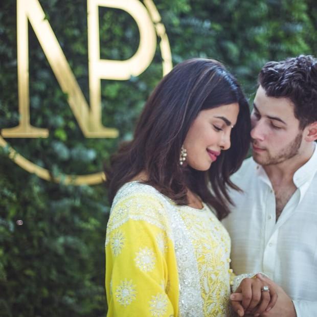 Priyanka Chopra e Nick Jonas (Foto: Reprodução/Instagram)