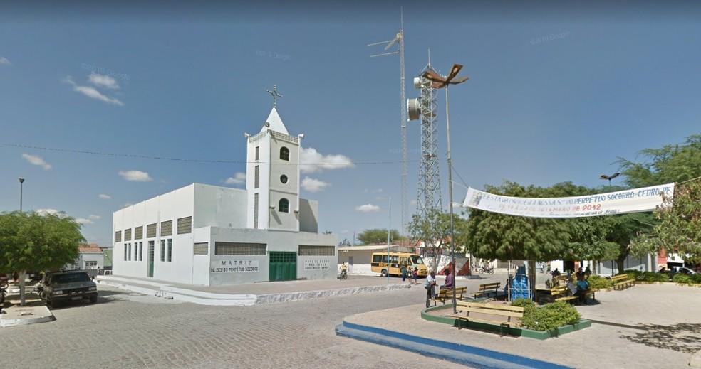 Município de Cedro possui 37 casos ativos da Covid-19. — Foto: Reprodução/Google Street View