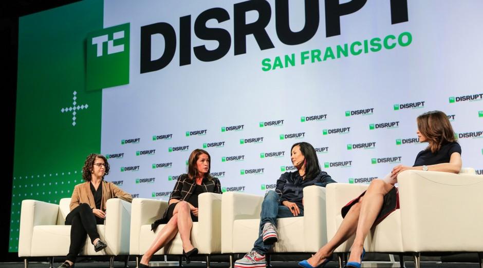 Investidoras no TechCrunch Disrupt (Foto: Divulgação)