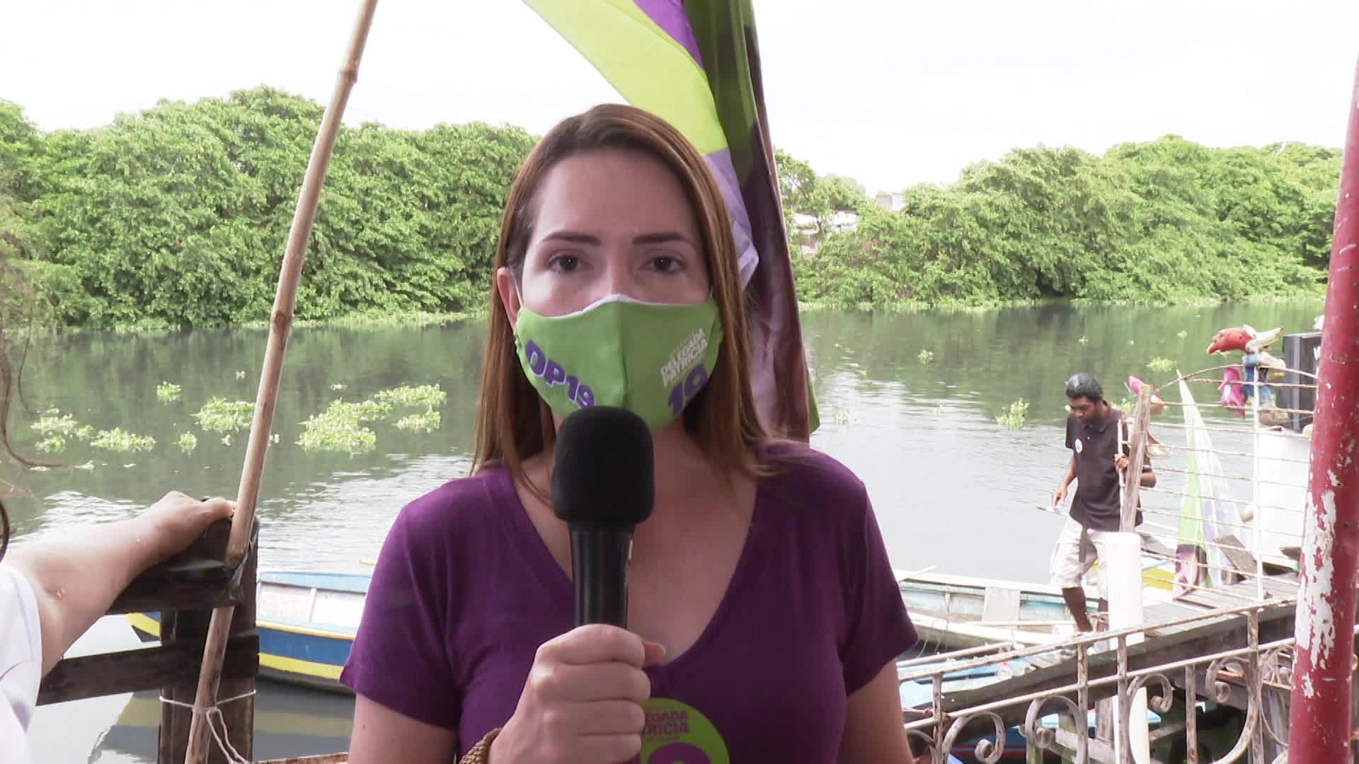 Delegada Patrícia promete construir conjuntos habitacionais para pessoas que vivem em palafitas no Recife